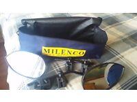 Milenco Caravan mirrors in very good contition