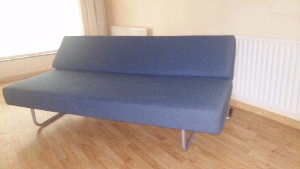 Habitat Futon Sofa Bed Folds Out To A Double In Excellent Condition
