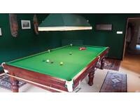 Snooker Table + Accessories