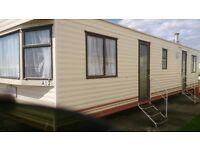 caravan for hire,sleeps 6, at st osyths, near clacton on sea