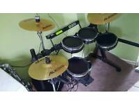 Alesis dm5 pro electronic drum kit with surge cymbals