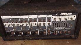 Peavey XR560 200W 5 Channel Mixer