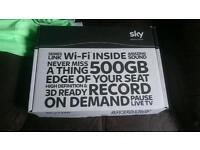Sky box and Internet router