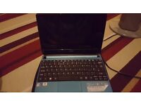 Blue Acer Aspire Netbook D270