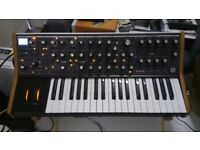 Moog sub37 analogue synthesiser