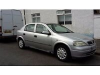Bargain W reg Astra! Great little runner, retro accessories. Good first car, or dog car!