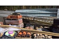 job lot of new /used building materials.
