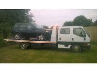 Recovery service 24/7 UK wide cars and motorbikes. Competitive rates