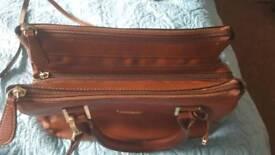 Tan handbag