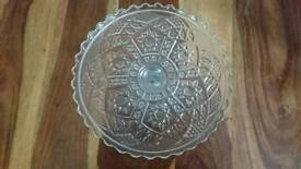 Lovely Glass cake stand