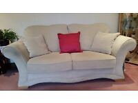 good condition, comfy 3 seat and 2 seat sofa.