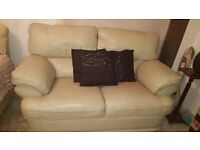 Great Condition Leather sofas