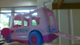 Fisher Price Pink Bus, will musical seats