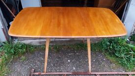 ERCOL Drop Leaf Refectory Plank Top Table, in Lancashire.........