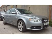 **FOR BREAKING** 2008 AUDI A4 S-LINE.