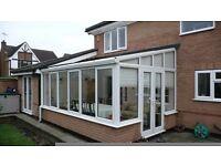 conservatory white upvc