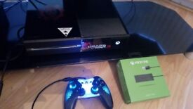 Xbox one+45games+tv adapter new