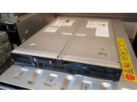 HP ProLiant BL685c G6 blade server, 24 cores, 32GB RAM