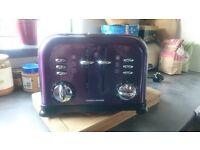 Morphy Richards 4-slice toaster