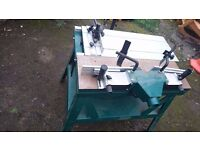 RECORD POWER RPMS-R-MK2 HEAVY CAST ROUTER TABLE