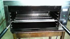 Lincat electric grill salamander steak grill