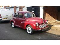 Morris 1000 (1098cc) 2 door rebuilt bottom end good condition for age