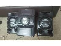 Sony hi fi speaker system