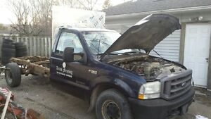 2002 ford F350 pick up truck