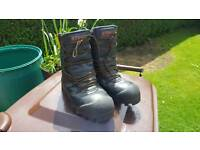 Stihl special plus chainsaw boots size 8