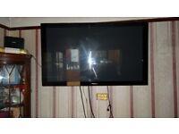 "LUXURIOUS PIONEER TV BIG 50"" SCREEN KUROPDP-LX5090 COME WITH REMOTE CONTROL, KURO MANUAL, POWER"