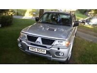 Mitsubishi shogun sport 2.5td with private number plate
