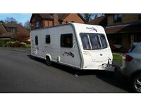 Bailet Pegeant Bretagne s6, 2007, 6 berth with fixed bunk beds, motor mover & all extras included