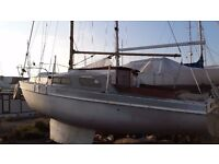 21ft Kestrel Sailing Boat / Yacht - Project