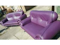 Faux leather 2&3 seater