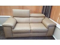 Barker and stonehouse leather sofa