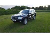 Jeep grand Cherokee overland 4.7v8 limited 4x4 estate