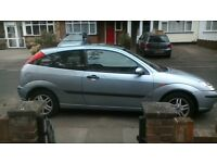 Ford focus 1.6 outomatic 2 door tax mot 4 mouths drives fine in daily use