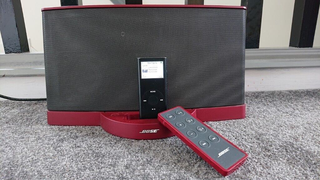 Bose Sound Dock Series 2 in Red - Apple iPod Classic, Nano, Touch 30pin |  in Warwick, Warwickshire | Gumtree