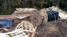 Scrap Timber And Wooden Pallets