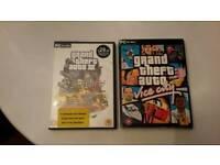 PC Grand Theft Auto x 2