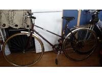 Ladies Bike For Sale - Vintage - Maroon - Good Condition - £60 ONO