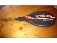 Wilson Tennis Racket and case in used but good condition