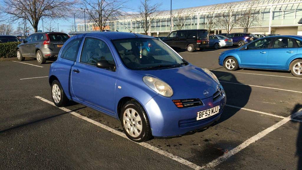 Nissan micra/automatic/