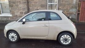 Fiat 500 Therapy 3 door hatchback - 1 Owner (Mocha/Latte)