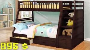 GRANDE LIQUIDATION Lit gigogne et Lit superposé à partir de 295 $