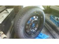 195 60 15 wheel and bridgestone tyre