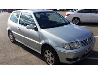 VOLKSWAGEN POLO 1.4 SE 75, X REG. , 89K MOT, 2 Previous Owner From New GREAT DEAL* BARGAIN PROJECT*