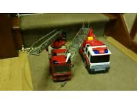 Toy fire engines