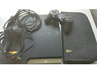 PS3 Slim 1 Controller **65 Games W/CD Case ** Edinburgh Pick Up Only - PLEASE READ DESCRIPTION!
