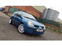 2002 Renault Clio 1.2 Expression 17INCH ALLOYS TINTED WINDOWS Corsa Saxo Astra 206 106 Ideal First